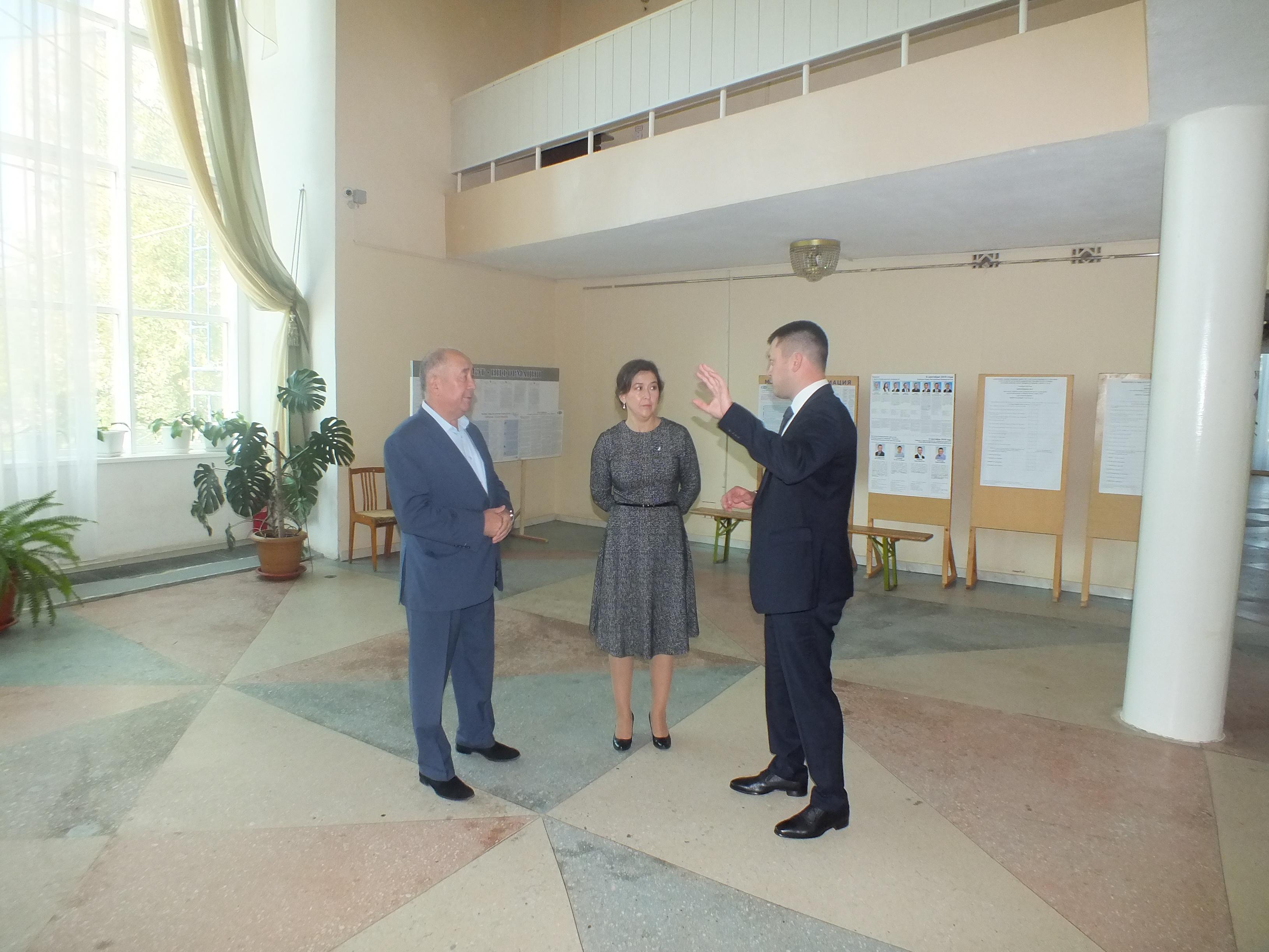 Министр культуры РБ Амина Шафикова посетила Нефтекамскую государственную филармонию