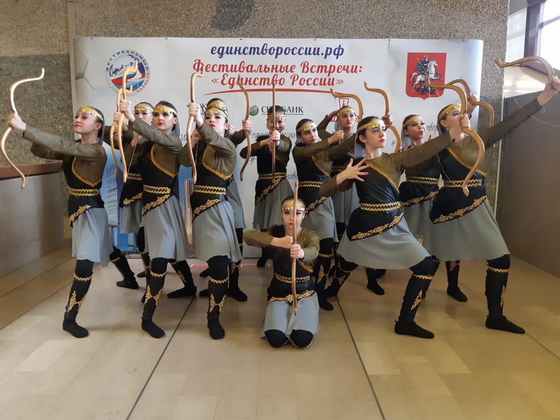 Детская студия «Тангаур» дважды удостоилась звания Лауреата I степени в Международных конкурсах, которые прошли в г.Москва