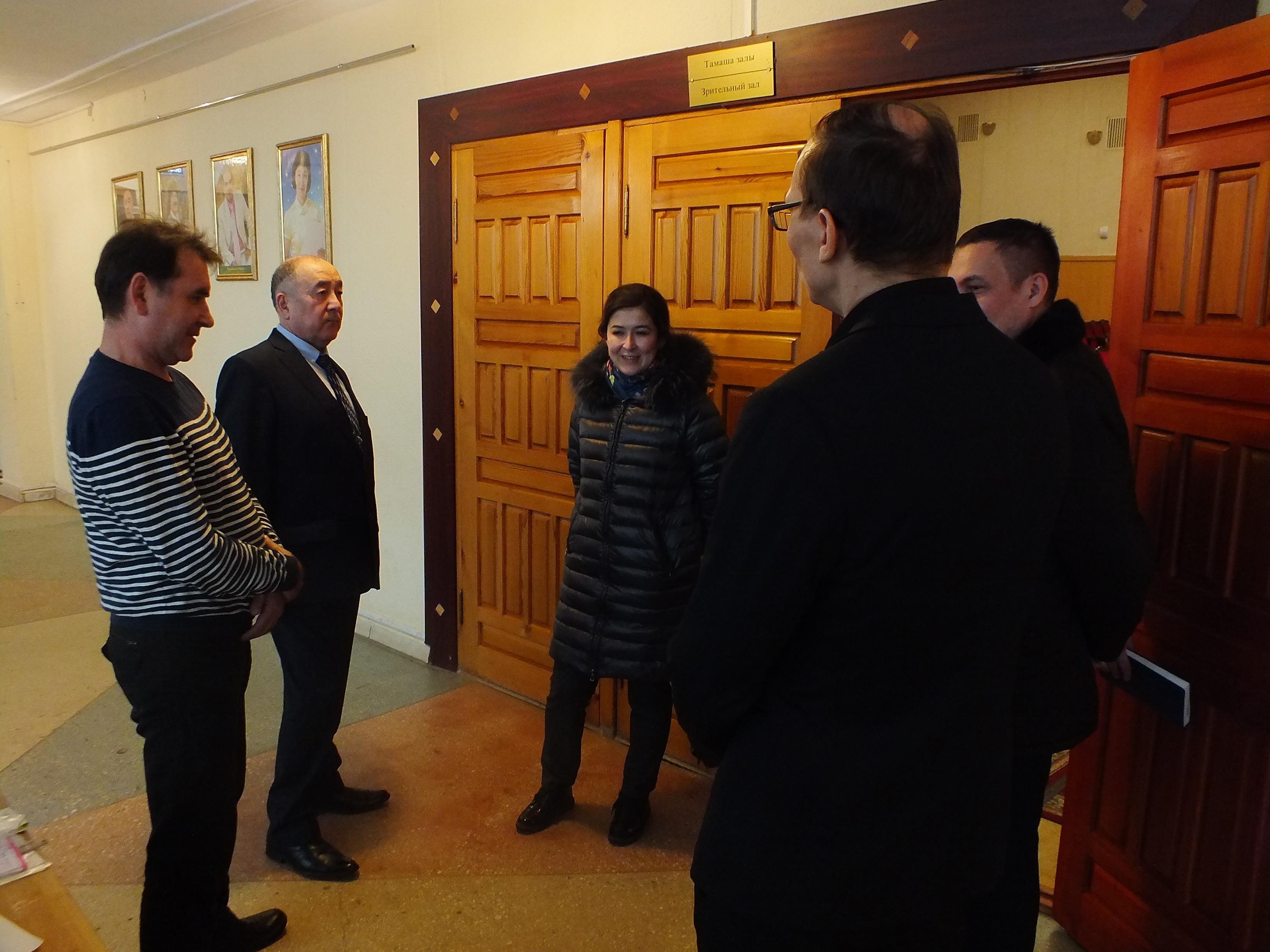 Сегодня Министр культуры РБ Амина Шафикова приехала с рабочим визитом в г.Нефтекамск