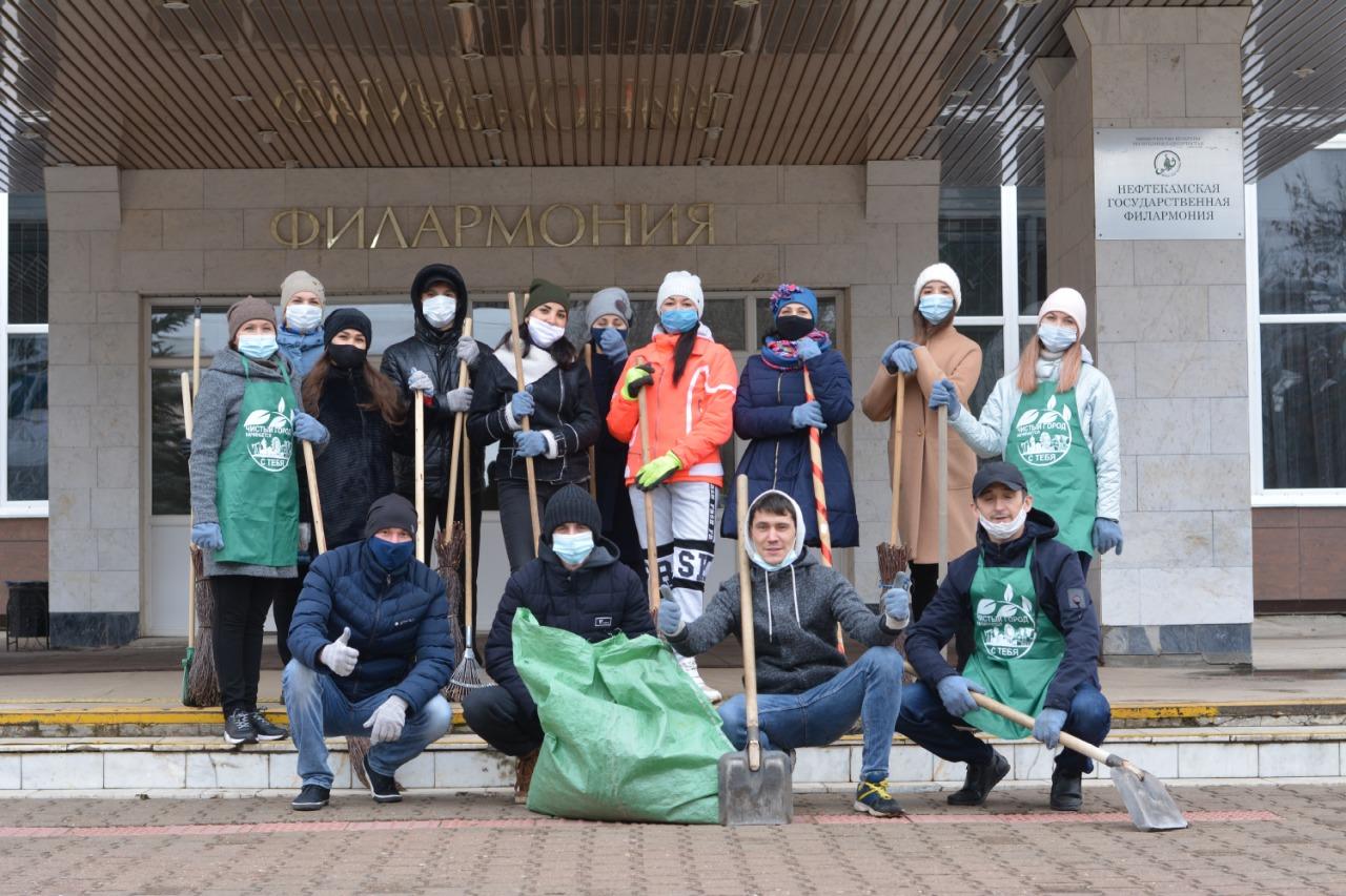 Сегодня состоялся субботник, организованный в рамках проведения мероприятий по Году эстетики #чистыйчетверг.