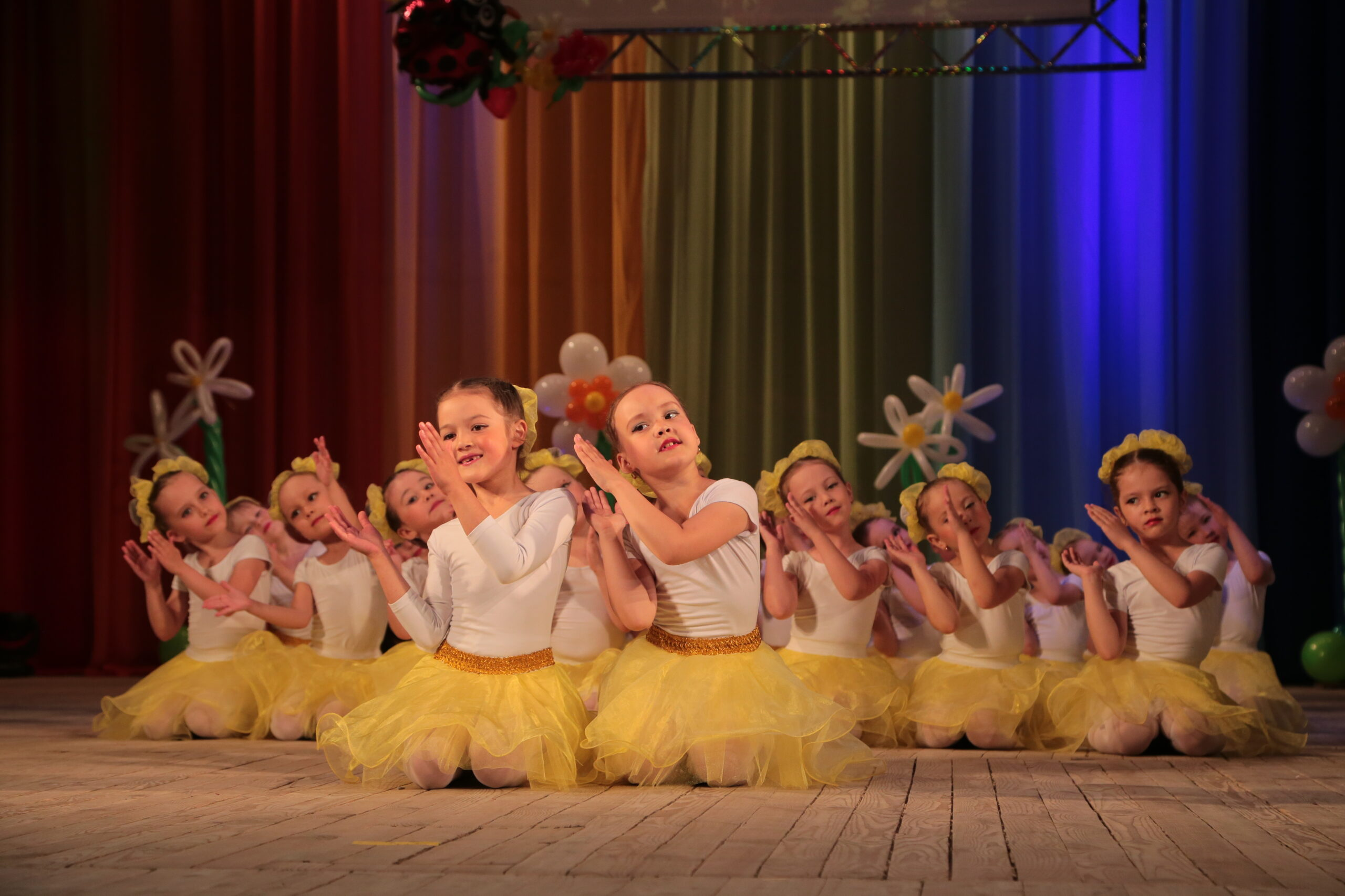Детская студия ансамбля танца «Тангаур»