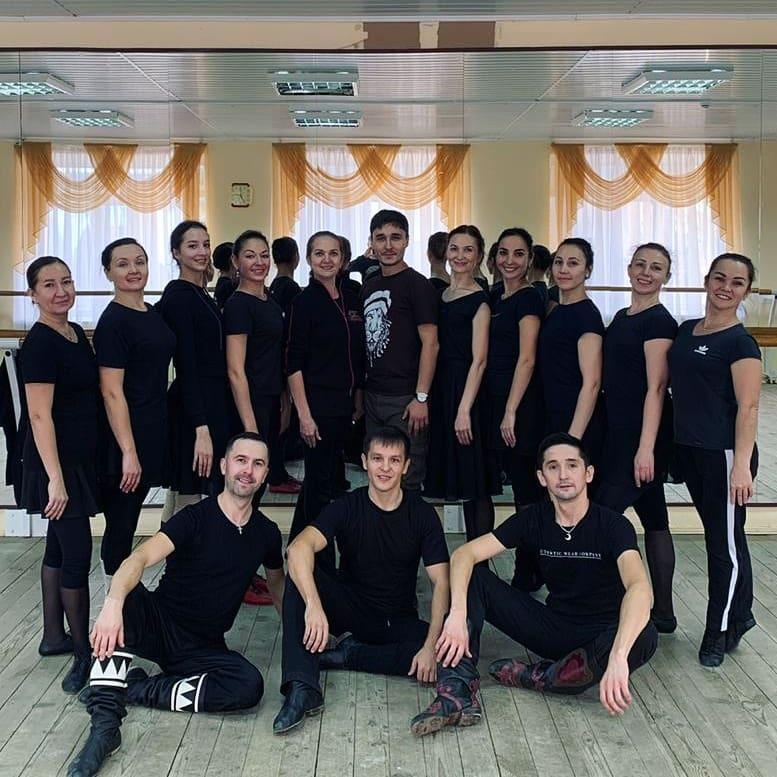 Репетиция нового танца «Тыуған ер».