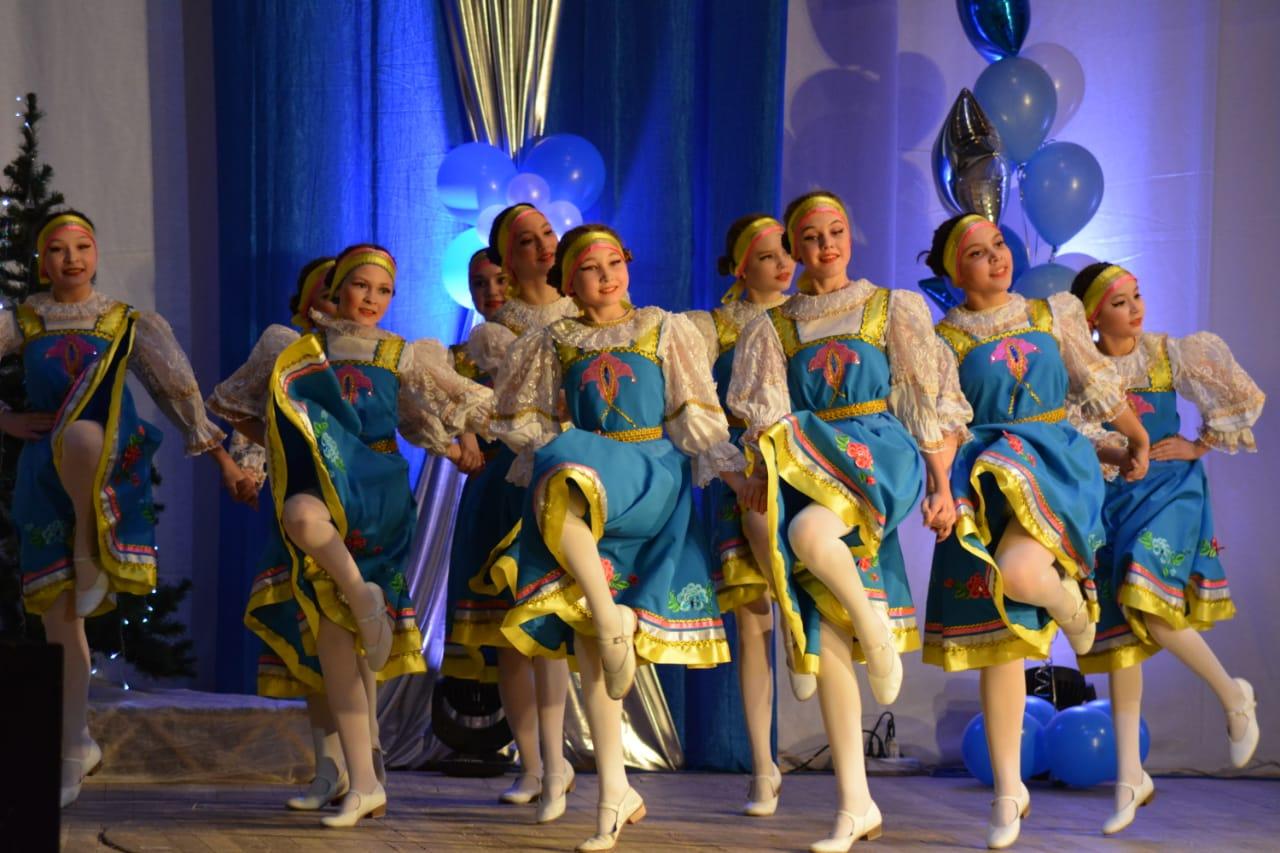 Концерт детской студии ансамбля танца «Тангаур».