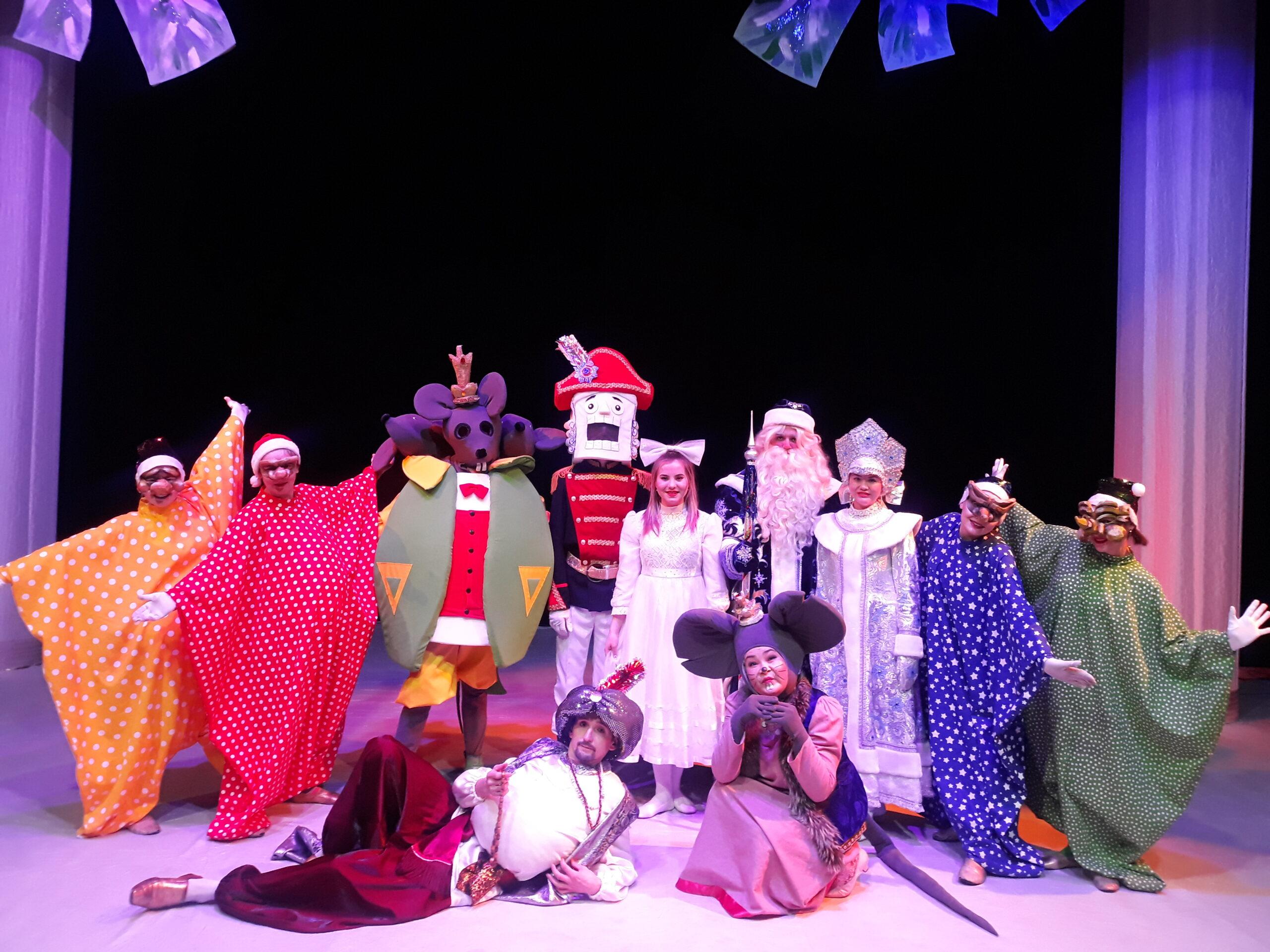 Новогодний спектакль для всей семьи «Щелкунчик».