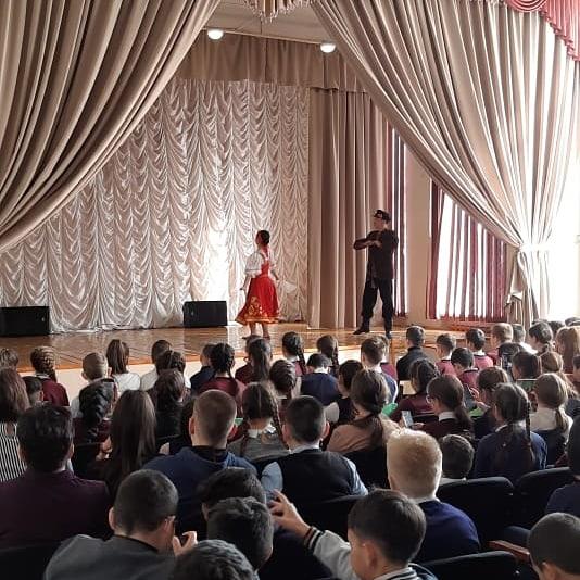 Музыкально-познавательная программа 'Ярмарка танцев» в с.Аскарово.