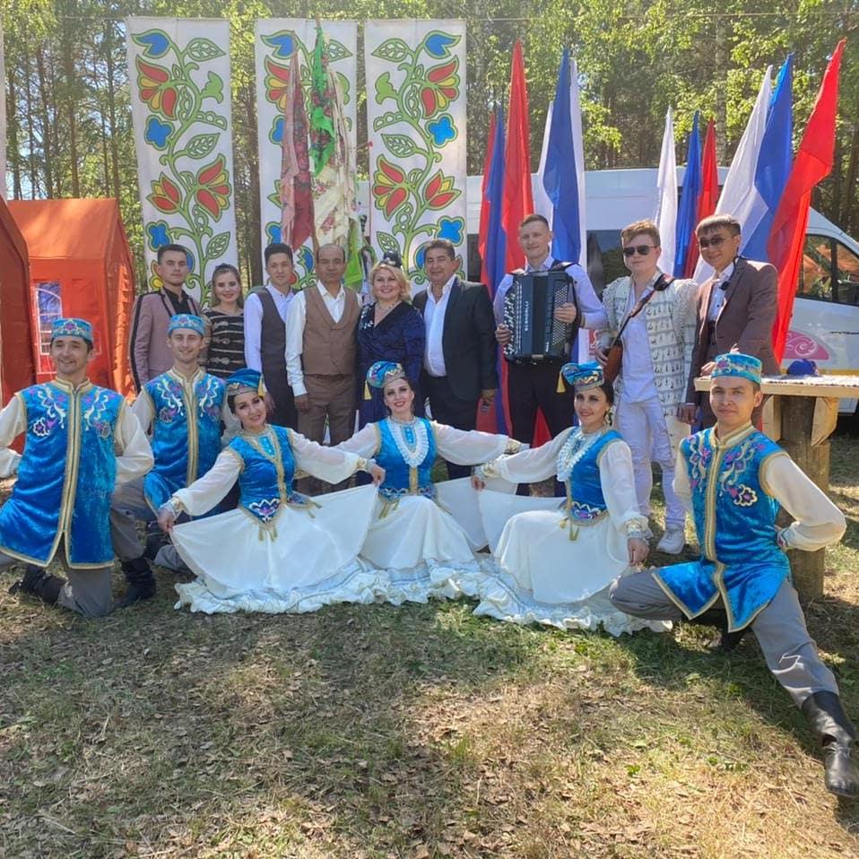Сабантуй-2021. Татарская эстрадная группа «Кайтаваз» в с.Аракаево Свердловской области