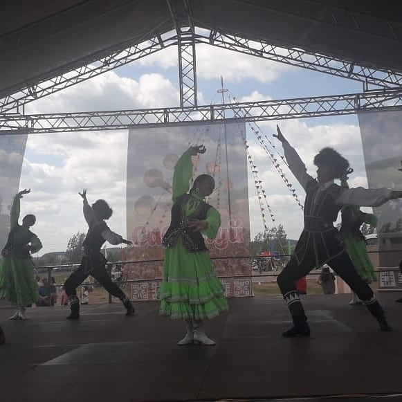 Сегодня в с.Николо-Березовка Краснокамского района РБ состоялся народный праздник «Сабантуй-2021» с участием артистов Нефтекамской государственной филармонии
