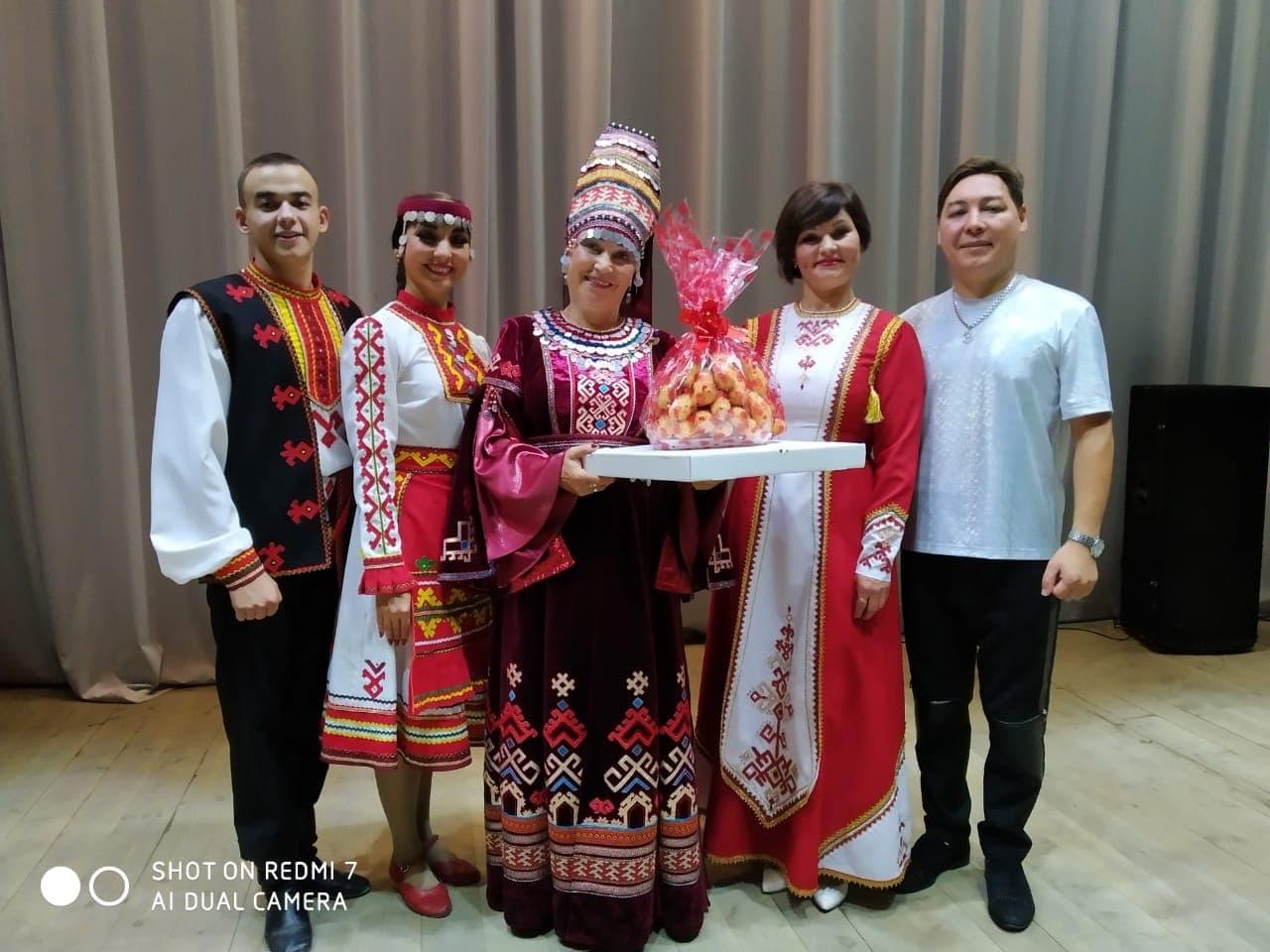 Вчера в с.Шаран Шаранского района РБ состоялся концерт марийской эстрадной группы «У Сем»
